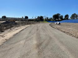 Temporary BART Access Road Complete