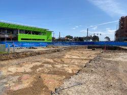 Excavating LPR Site for Geofoam installation