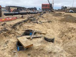 Auger Cast Piles in LPR Site