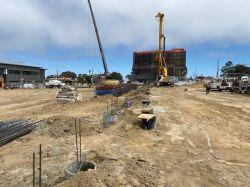 Production Piles at LPR Site