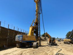Drilling Piles - Deep Foundations