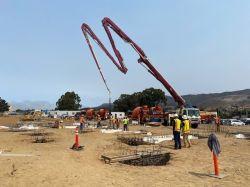 2nd Concrete Pour for LPR Building Foundation