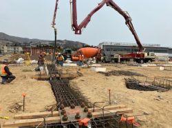 3rd Concrete Pour for LPR Building Foundation