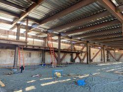 Steel Installed at LPR Parking Garage