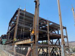 Steel Installed at LPR