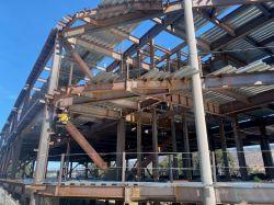 Welding Steel at Building Level 2