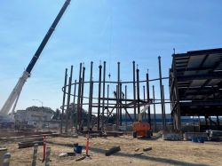 Steel Erection at Council Chambers