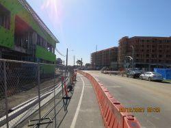 New Curb and Gutter along Antoinette Lane