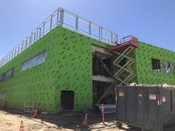 Installing Exterior Drywall