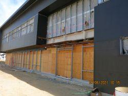 Framing Storefront Windows at Building Exterior