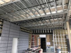 Install Track for Metal Panels