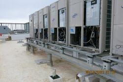 Install Electrical for HVAC Units